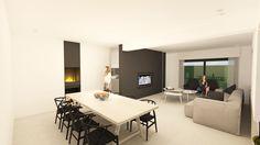 interieur architectuur verbouwing Kortrijk # Ghyselen Dewitte Architecten