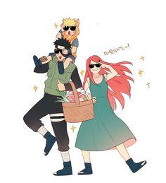 Kushina Uzumaki Queria Muito Que Naruto Crescesse E Se Tornasse Igual Ao Obito.