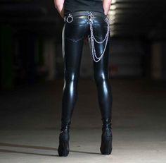 Leather Pants Shiny Spandex Leggings Whooila.net