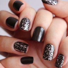 169 Best Vines Filigree Nails Images On Pinterest Nail Art