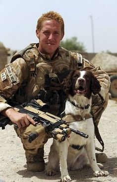 A British Soldier and dog handler serving in Afghanistan not only saved the life of a soldier who had been critically injured by an IED blast but then went on ...