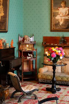 Queen Wilhelmina's children's room at Het Loo Palace /// More on Interiorator.com