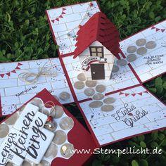 """Stempellicht: """"Haus für alle Fälle"""" beim Bloghop Team Stempel-Biene"""