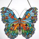 Beautiful stained glass butterfly