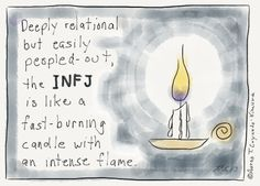 24 beautifully true cartoons that show what it's like being an introvert and INFJ Infj Mbti, Intj And Infj, Infj Type, Isfj, Infj Traits, Myers Briggs Infj, Myers Briggs Personality Types, Infj Personality, Personality Psychology