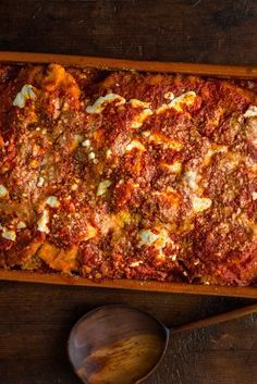 NYT Cooking: A classic Italian-American Parmesan — a casserole of fried, breaded meat or eggplant covered with tomato sauce and molten cheese — is all about balance. You need a bracing a tomato sauce to cut out the fried richness, while a milky, mild mozzarella rounds out the Parmesan's tang. Baked until brown-edged and bubbling, it's classic comfort food — hearty, gooey and satisfying...