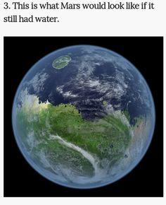 If Mars still had water
