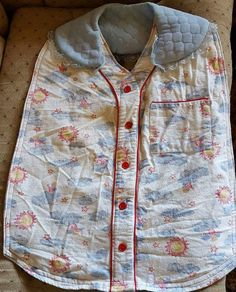 Adult Bib - Machine Washable, Waterproof, stylish, ideal for breakfast in bed by SpecialHonorDesigns on Etsy