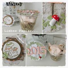 Liebes Papier...: Viel Glück für´s Neue Jahr...