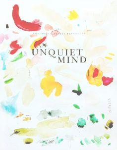 An Unquiet Mind  25 x 36 cm Watercolour & graphite on paper