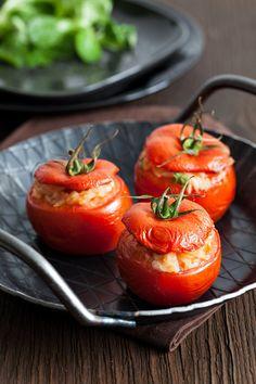 Tomates farcies à la viande hachée faciles et rapides