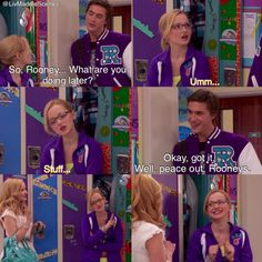 """Liv and Maddie, Season 1 Episode 1, """"Twin-A-Rooney"""" with Maddie, Liv and Diggie"""
