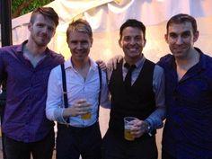 Four handsome men Peter, Neil, Ryan, abd Declan!!! It was at the Kansas City Irish Festival!!! ;-)