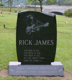 R.I.P. James Ambrose Johnson, Jr. aka Rick James (1948-2004).