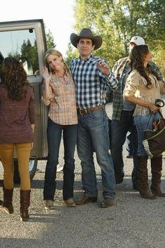 Julie Bowen & Ty Burrell- Dude Ranch Episode ♡