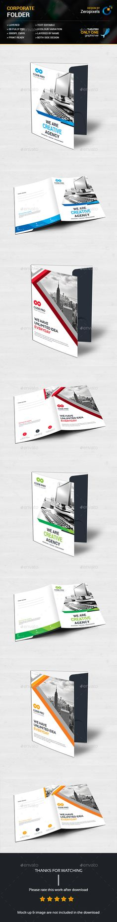 Portfolio Template 002 Modern, Brochure template and Templates - best company profile format