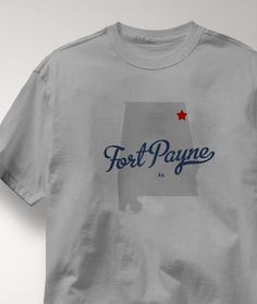 Cool Fort Payne Alabama AL Shirt from Greatcitees.com