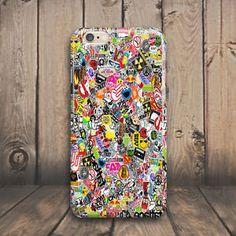 Logo Sticker Bombing Hard Case Cover for iPhone 4 4s 5 5s 5c SE 6 6s plus iPod #Cover #Shockproof #Skin #Slim #Protector #Protective #Luxury #Phone #case #cover #Cheap #Best #Accessories #plus #Cell #Mobile #Hard #Pattern #Rubber #Custom #Ultra #Thin #silicone #plastic #laptop #macbook #Cracked #Classic #Granite #Retro #Grain #Illusion #Effect #Vintage #marble