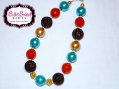 Cute Fall Chunky Necklace