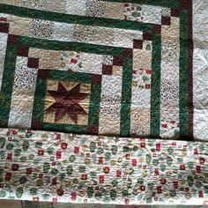 Backing of C lap quilt