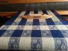 This set of 3 towels is not yet finished, even though it was started over 2 months ago. Soon after putting this on the Newcomb, we left t...