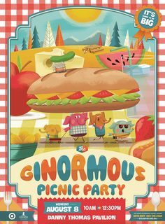 The Ginormous Picnic Party