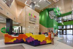 Дизайн детской больницы Lady Cilento в Брисбене, вдохновленный большим деревом   Admagazine   AD Magazine