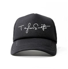 Taylor Swift trucker cap for youth black baseball caps