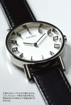 Seiko - shadow watch.