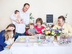 Host a Multigenerational Mother's Day Lunch