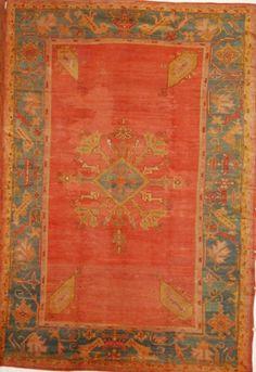 Antique Oushak - $29500 - Moattar, Ltd.