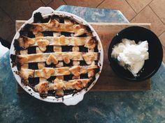 Glorious WinterBerry Pie