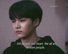 If you kill it, nothing exists anymore. Bts Lyrics Quotes, Bts Qoutes, Jungkook Jimin, Bts Jin, Taehyung, Bts Texts, Min Suga, Quote Aesthetic, Mood Quotes