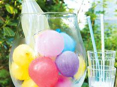 Bunter Ballon-Kühler für Getränke