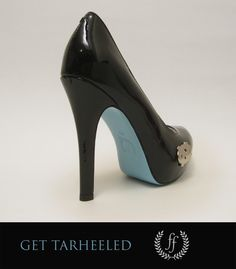 UNC Tar Heel Heel - Tarheeled by Fan Feet
