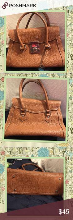Dooney & Bourke Tan Leather Satchel Good Condition Dooney & Bourke Tan Leather Satchel Good Condition Dooney & Bourke Bags Satchels