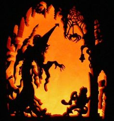 Image result for how to carve foam pumpkin happy halloween tree carvings