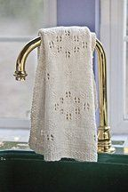 Lady Tea Towel - Knitting Daily