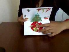 Tarjeta 3D de felicitación para navidad o cumpleaños, fácil de hacer Sigueme : Sitio web : http://manualidadesparatodos.net YouTube : http://www.youtube.com/...