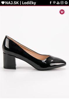 Lakované čierne lodičky Diamantique Kitten Heels, Platform, Sexy, Shoes, Fashion, Moda, Zapatos, Shoes Outlet, Fashion Styles