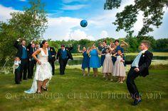 A Wedding Soccer Game! Wedding Photography by Carrington Creative Photography
