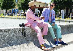 pitti uomo simple grey with pastel - Google zoeken