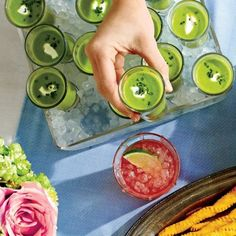 Make-Ahead Kentucky Derby Menu: Chilled Sweet Pea Soup with Mint and Cream