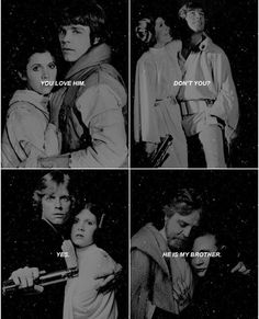 Leia and Luke Skywalker Star Wars ❤❤❤ #starwars #Leia #Luke #starwarsforever