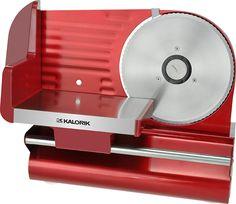 Kalorik - Meat Slicer - Red, AS 29091 R
