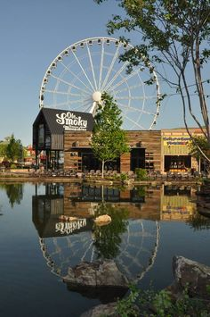 The Island in Pigeon Forge is a new retail and entertainment center in the heart of Pigeon Forge.