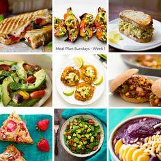 Vegan Meal Plan Sundays: Week 1