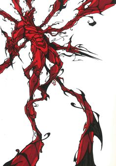 Carnage by Vincent Kukua Marvel Comic Character, Comic Book Characters, Comic Books Art, Comic Art, Marvel Venom, Marvel Dc Comics, Flash Thompson Venom, Spiderman Pictures, Comic Style Art