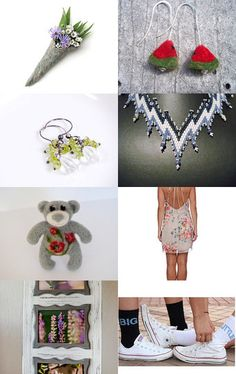 Saturday Shopping by Sarmite on Etsy--Pinned with TreasuryPin.com