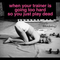 Like after being drilled with press-ups                                                                                                                                                                                 More